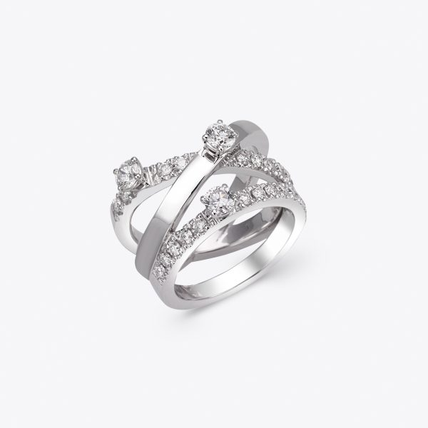 Anello Armonia con diamanti